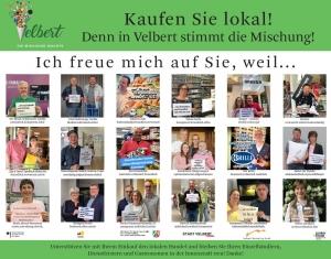 """""""Kaufen Sie lokal"""" Stadt Velbert"""