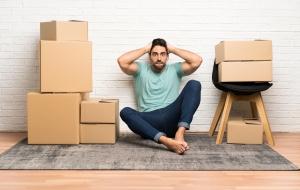 Platzprobleme in neuer Wohnung
