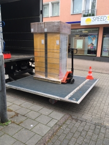 Anlieferung DHL Packstation