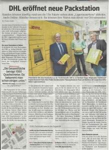 DHL eröffnet neue Packstation