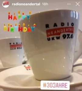 Radio Neandertal Geburtstagsgewinnspiel